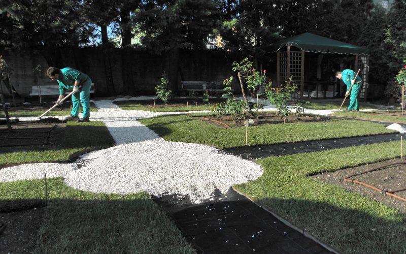 Dise o de suelos en cantabria jardiner a diego - Suelos de diseno ...
