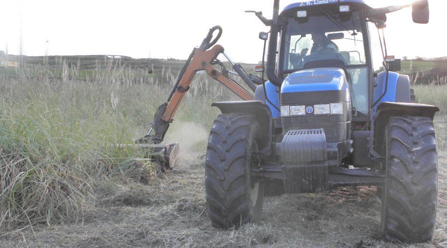 Desbroce de parcelas en Cantabria