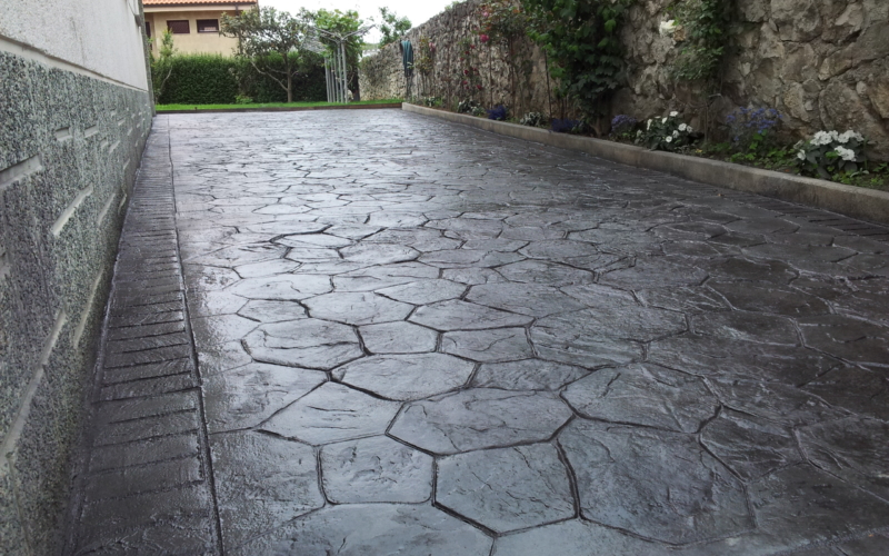 Diseño de suelos en Cantabria / Hormigón impreso