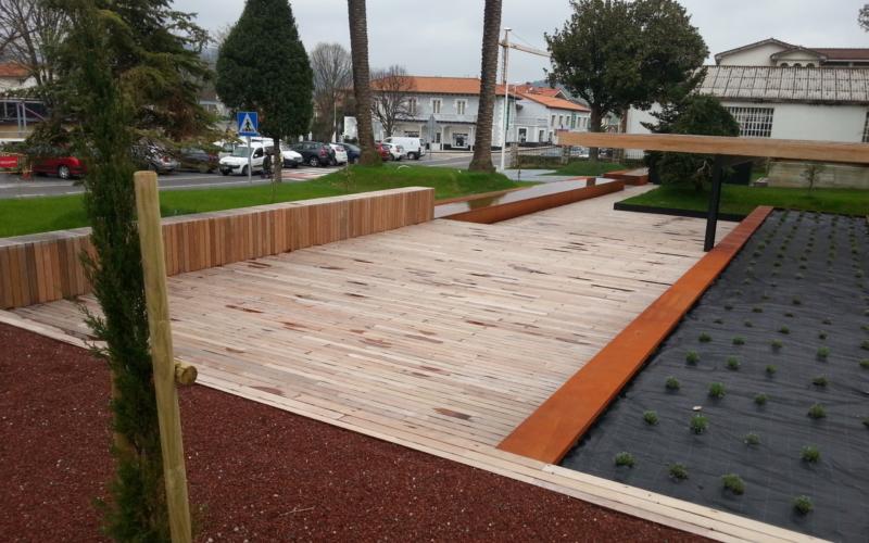 Diseño de suelos en Cantabria / Madera IPE